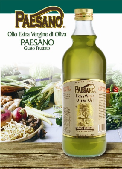 Paesano Unfiltered Extra Virgin Sicilian Olive Oil